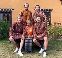 Barbara, Wieger, Tjerk, Folkert, SjoerdVan der Linden family.